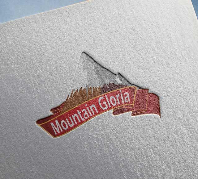Mountain Gloria logo design