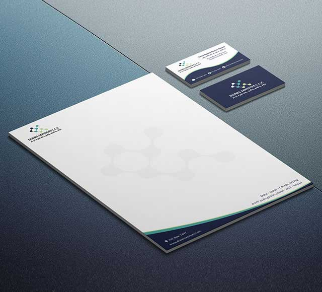 Dunes Services Corporate Stationery