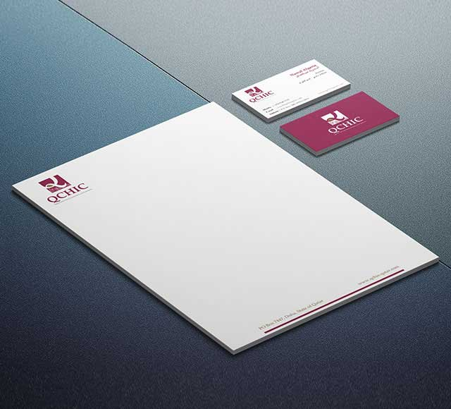 QCHIC Corporate Stationery