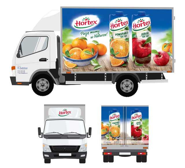 Hortex Truck Branding