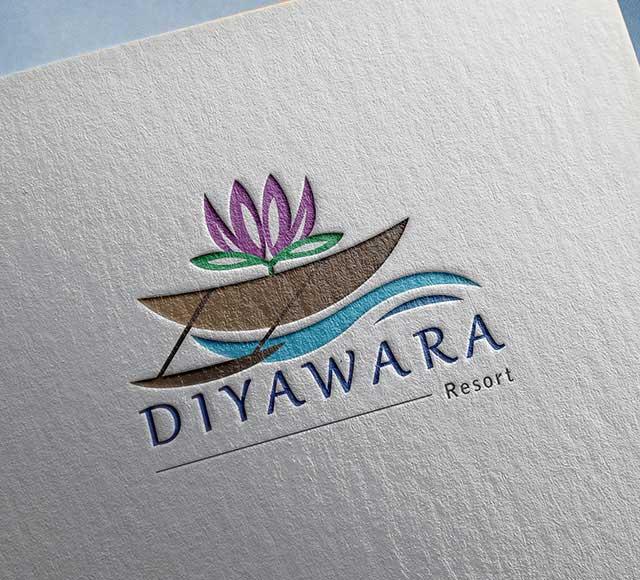 Diyawara Resort logo design