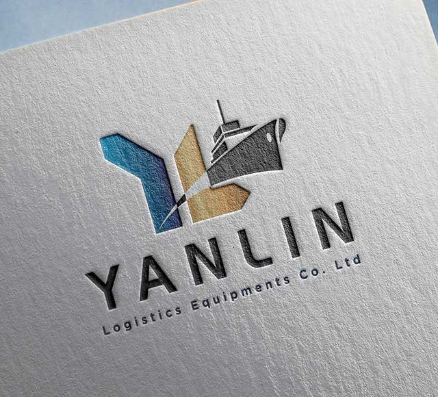 Yanlin logistics Equipments logo & brand identity