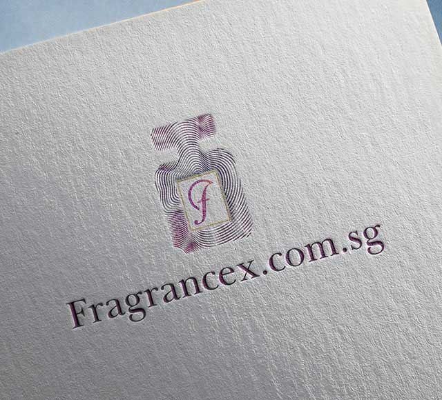 Fragrancex.com.sg logo design