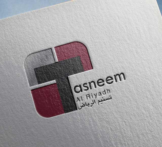 Tasneem logo & brand identity