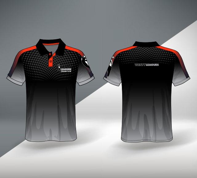 Wenty Cricket Club Australia T Shirt Design 1