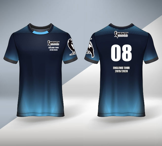 Wenty Cricket Club Australia T Shirt Design 2