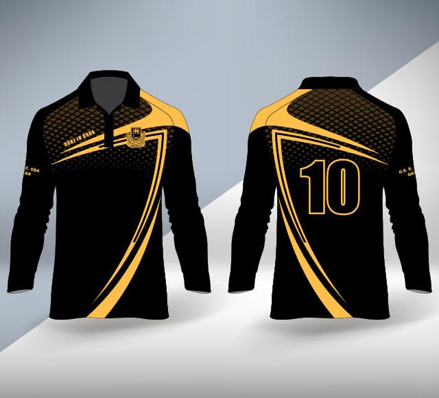DSOBA Qatar Big Match T shirt LS Design 2020