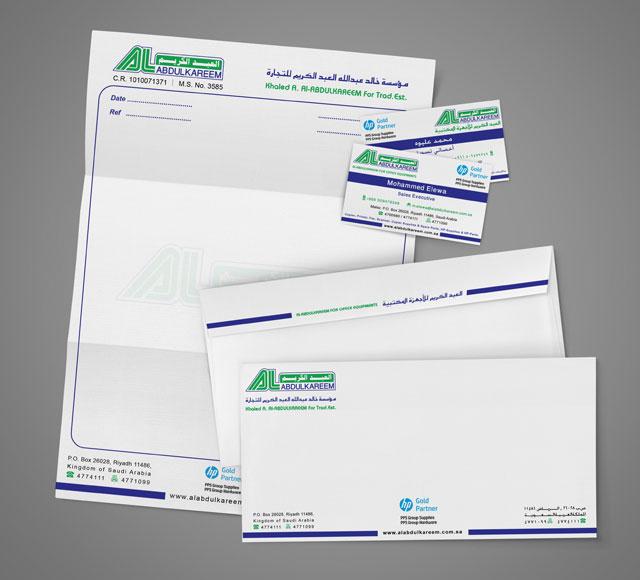 Al Abdulkareem Corporate Stationery