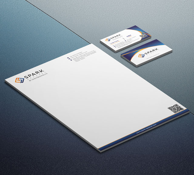 Spark Apparel Corporate Stationery