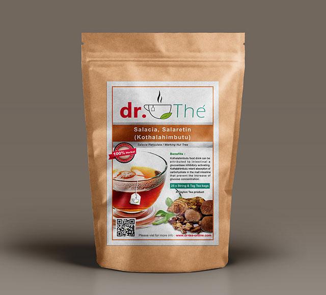 dr. THÉ Herbal Tea Label 5