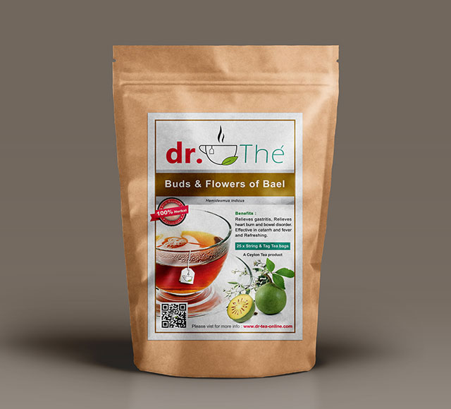 dr. THÉ Herbal Tea Label 6