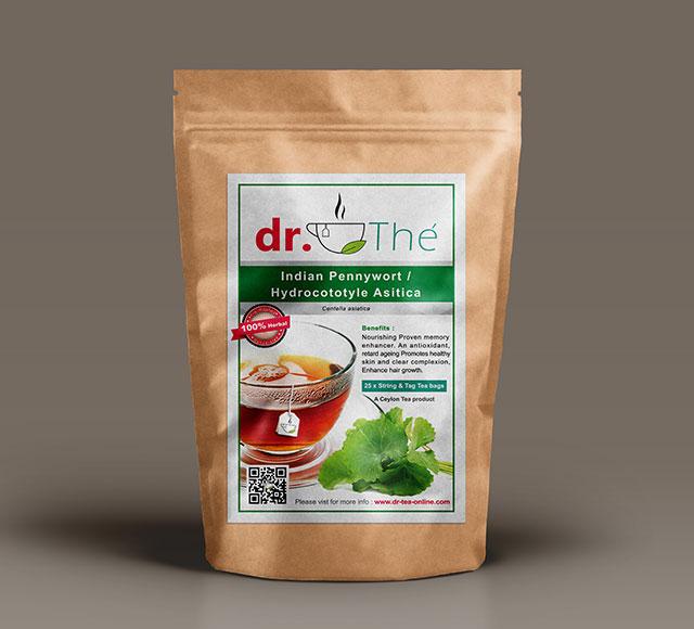 dr. THÉ Herbal Tea Label 8