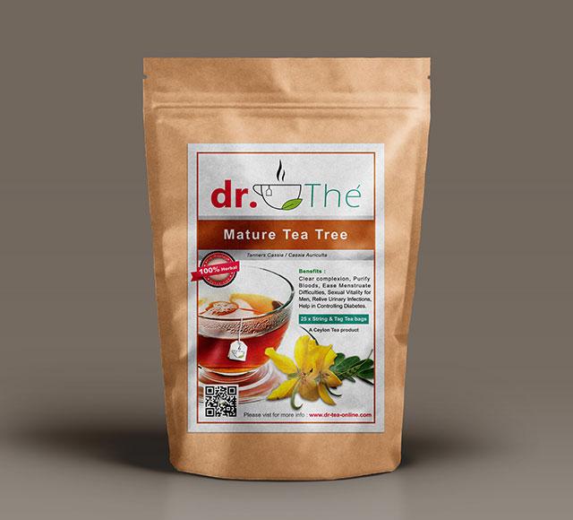 dr. THÉ Herbal Tea Label 9
