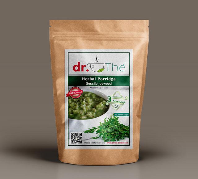 dr. THÉ Herbal Tea Label 12