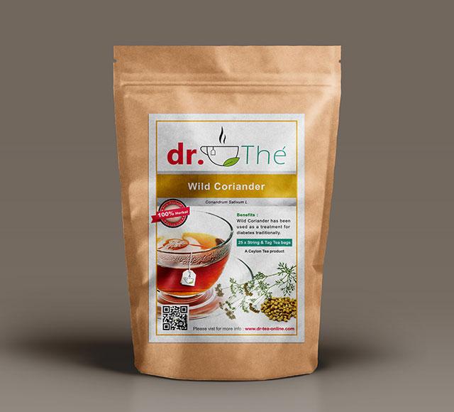 dr. THÉ Herbal Tea Label 2